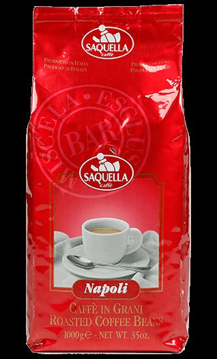 Saquella Caffe Napoli Bar Bohnen 1kg