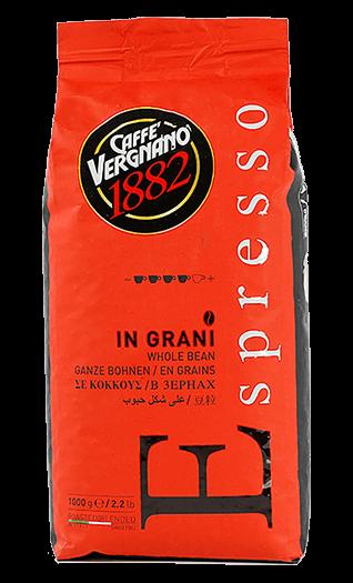 Vergnano Kaffee Espresso - Espresso Bohnen 1kg