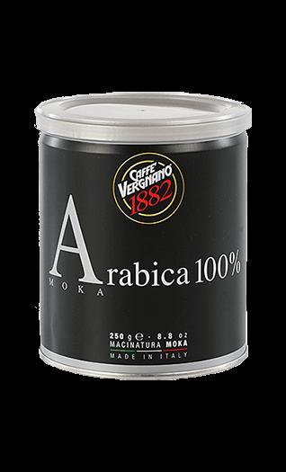 Vergnano Caffe 100% Arabica Moka gemahlen 250g Dose