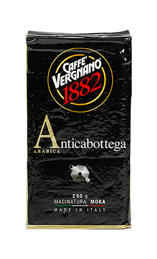Vergnano Caffe Antica Bottega gemahlen 250g