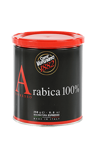 Vergnano Arabica 100% gemahlen 250g Dose