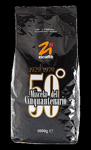 Zicaffe Kaffee Espresso - Cinquantenario 50° Bohnen 1kg