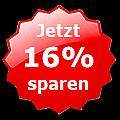 Jetzt 16% sparen