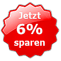 Jetzt 6% sparen